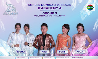 Dangdut Academy Indosiar Group 3 Top 28 Besar
