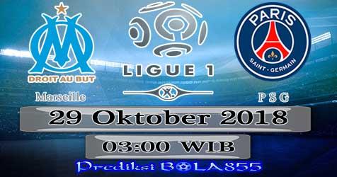 Prediksi Bola855 Marseille vs Paris Saint Germain 29 Oktober 2018