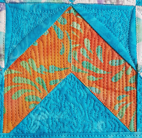 Wyoming Valley quilt block mini | DevotedQuilter.com