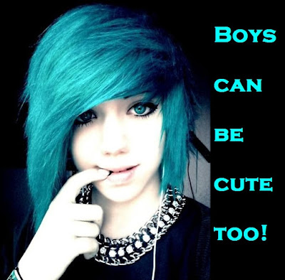 Boys can be cute too! Sissy TG Caption