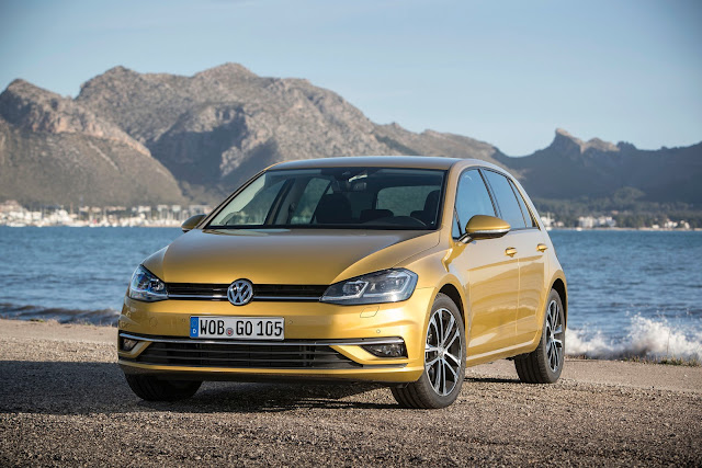 VW Golf Modelljahr 2019