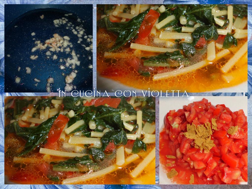 Pasta e tenerumi Copyright © In cucina con Violetta