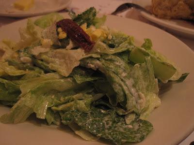 Morton's, salad