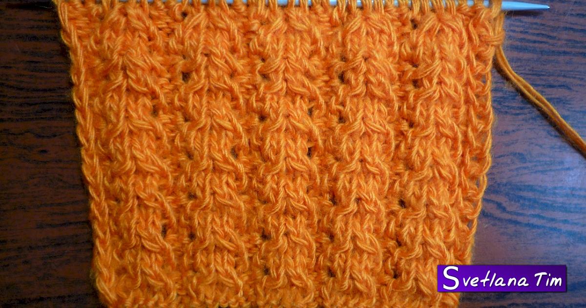 Вязание узоры косы ромбы 48