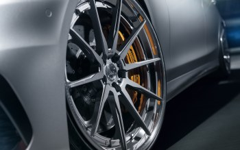 Wallpaper: Mercedes AMG S63 with ADV wheels
