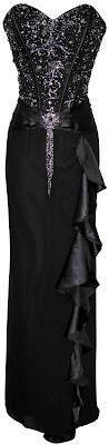 long black strapless prom dresses 2013