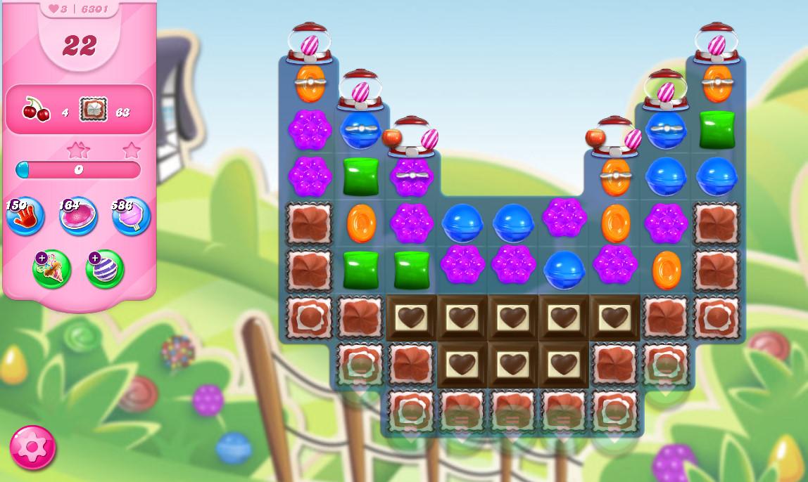 Candy Crush Saga level 6301
