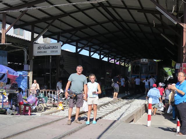 Mercado del Tren de Mae Klong