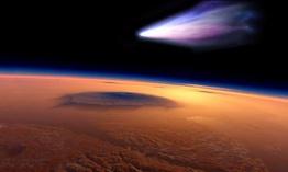2 cometas se dirigen a la tierra