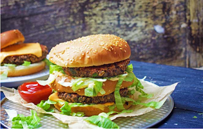 Veggie lover Big Mac Burger #burger #food
