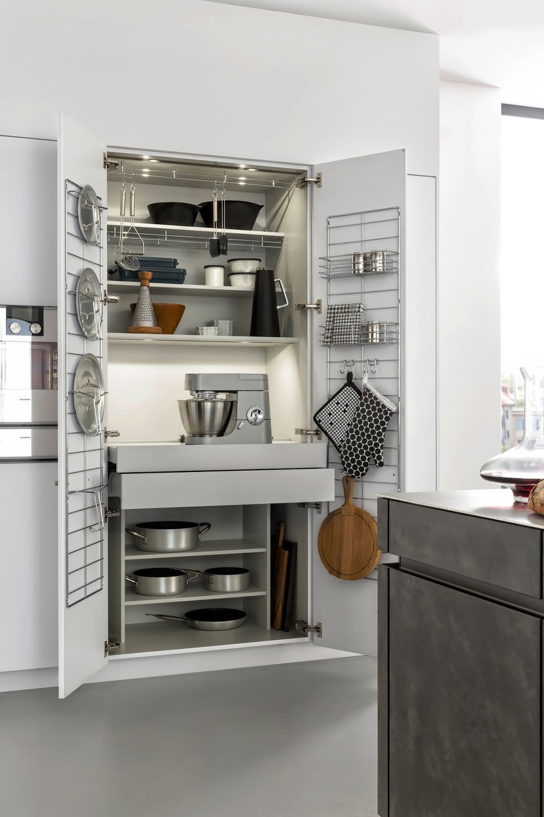 Jak wykorzystać każde wolne miejsce w kuchni?