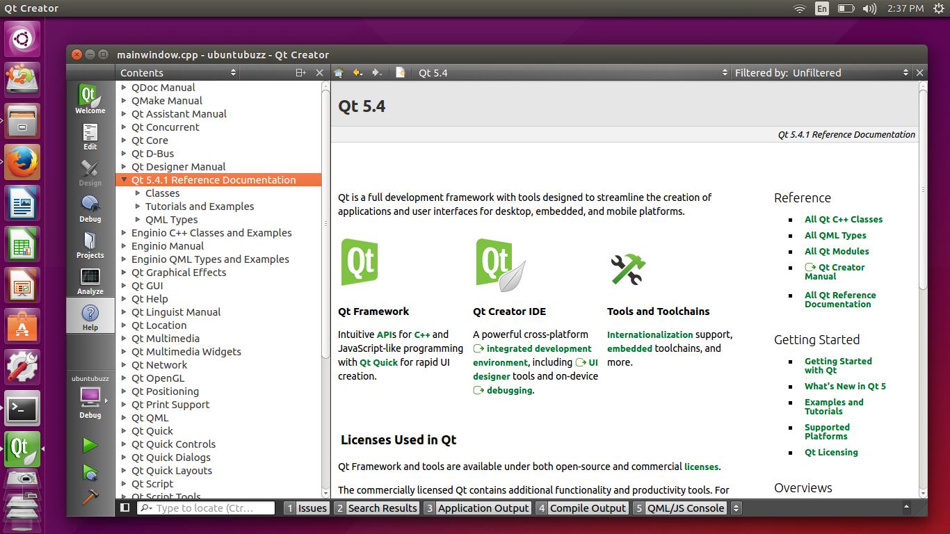 Ubuntu Buzz !: How To Setup C++/Qt Programming Environment