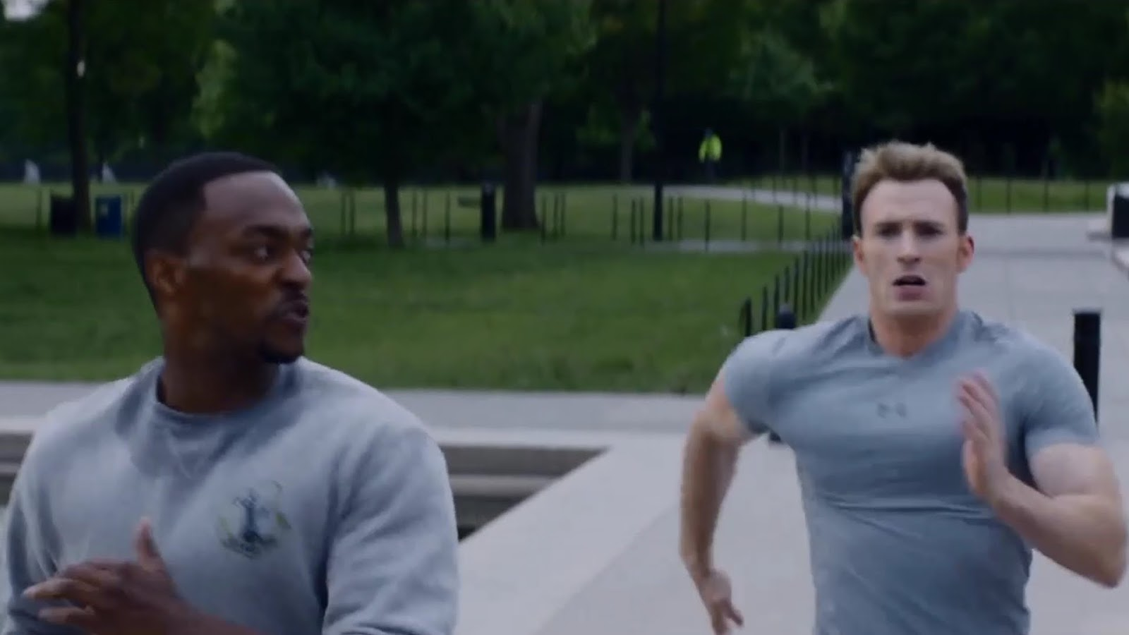 A Life Between Runs: Captain America is way too fast - a runner's rant
