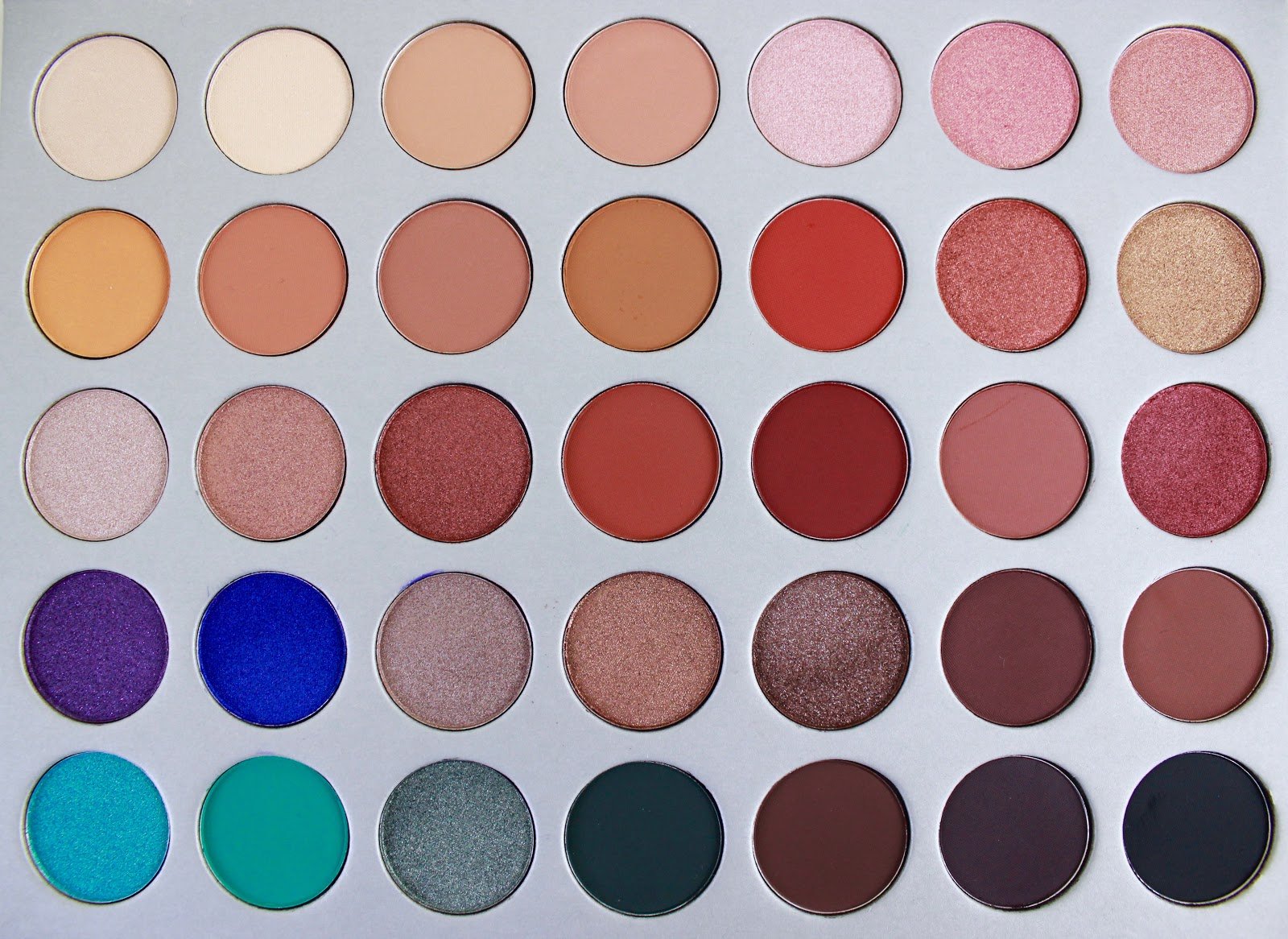 Jaclyn Hill X Morphe Palette Review Swatches Tutorial
