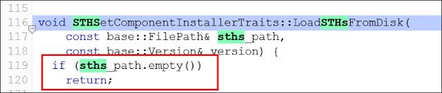 Código Certificate Transparency imagen