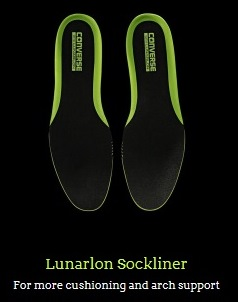 Lunarlon Sockliner for Chuck II