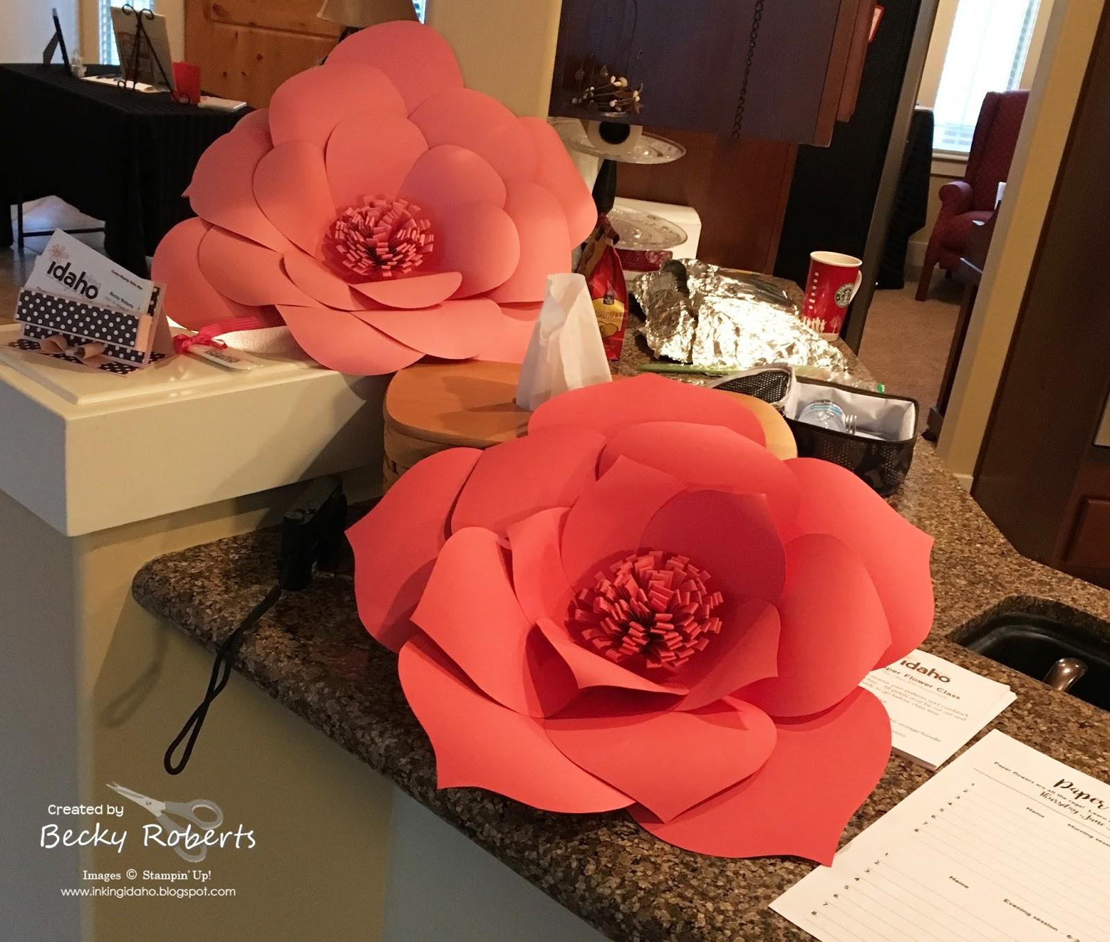 Inking Idaho: Open House & Rubber Garage Sale Part 3