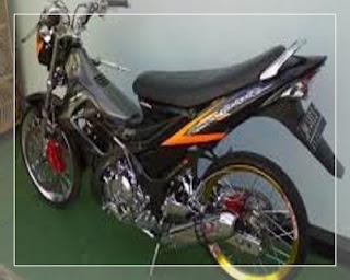 modifikasi satria fu airbrush terbaru modifikasi satria fu ala thailand