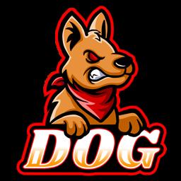 logo anjing hd