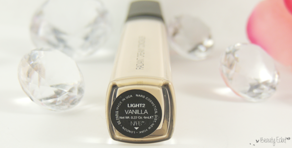 nars Radiant Creamy Concealer revue avis test vanilla