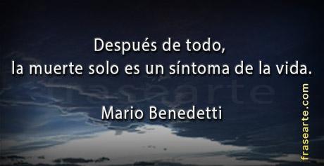 Frases para la vida Mario Benedetti