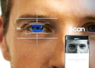 Teknologi keamanan canggih Scan Iris