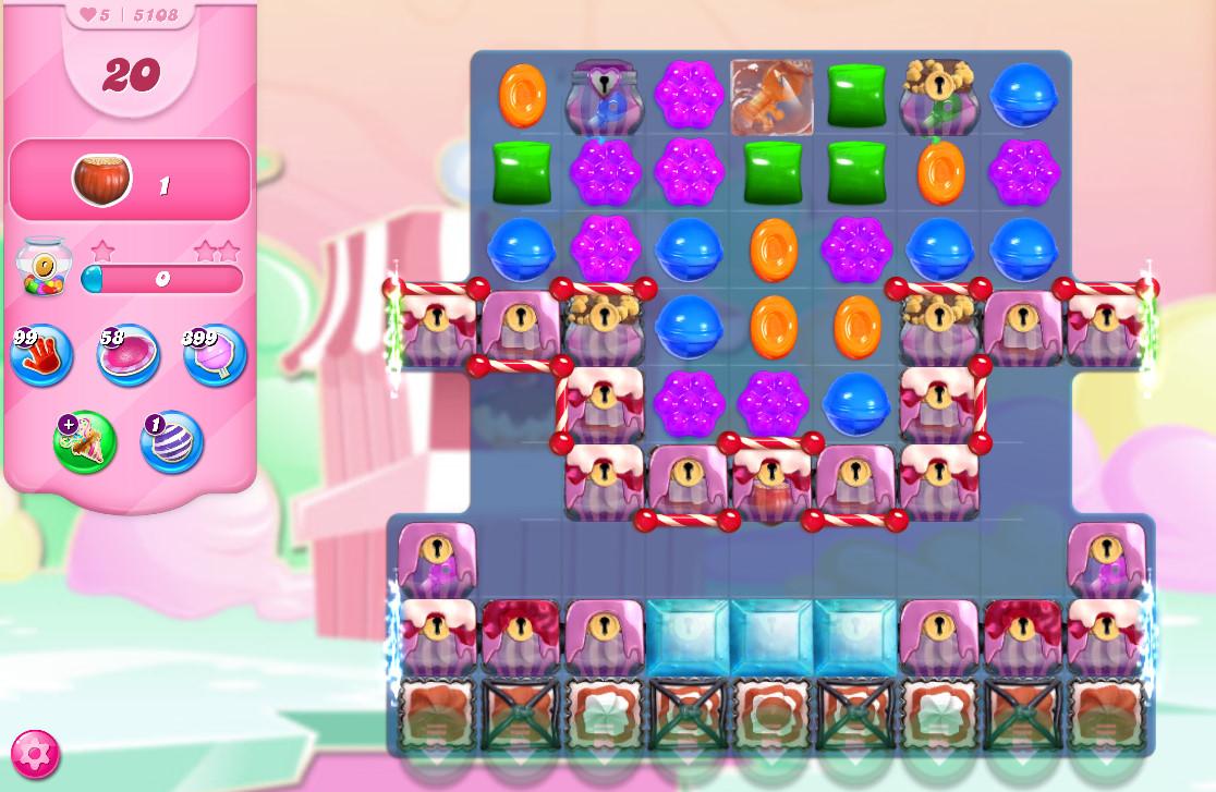 Candy Crush Saga level 5108