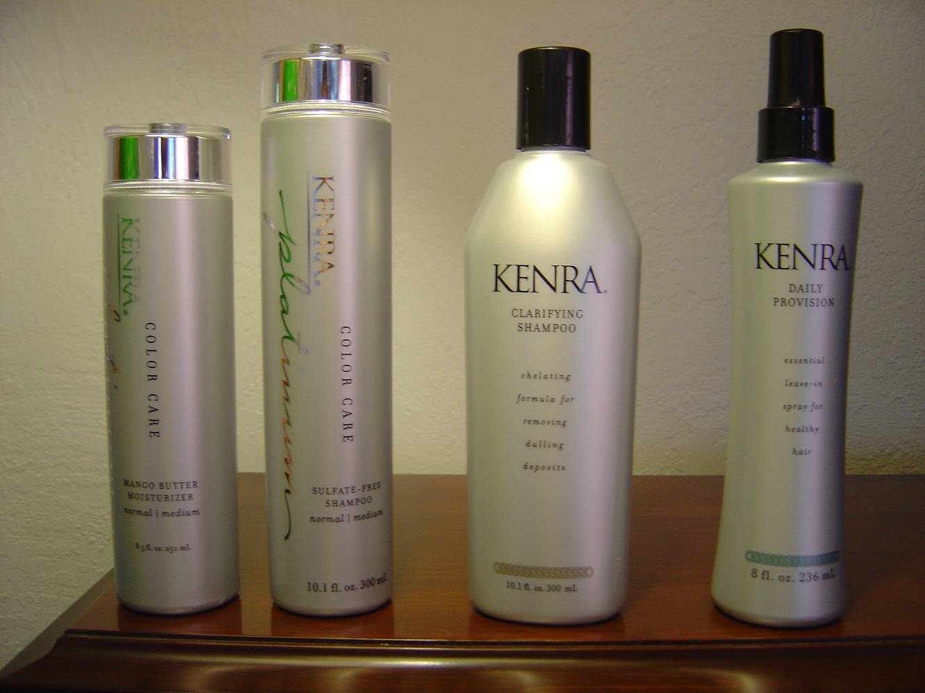 Kenra Professional Shampoos and Conditioners Review-Part