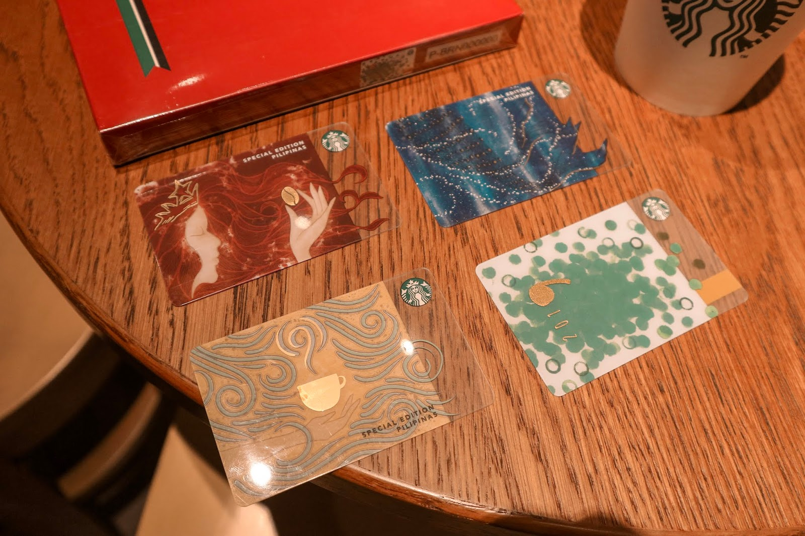 Starbucks 2019 Cards