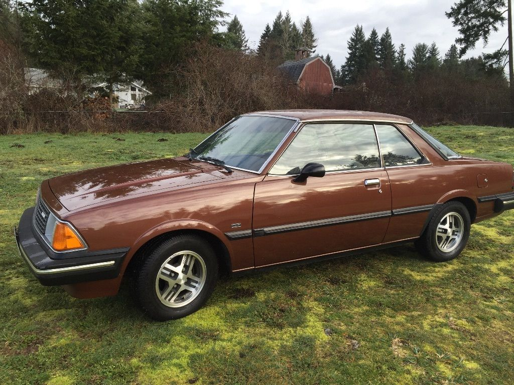daily turismo brown style 1982 mazda 626 coupe. Black Bedroom Furniture Sets. Home Design Ideas