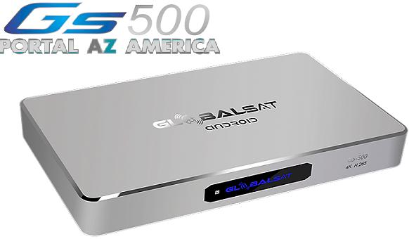Resultado de imagem para GLOBALSAT GS500 portal azamerica