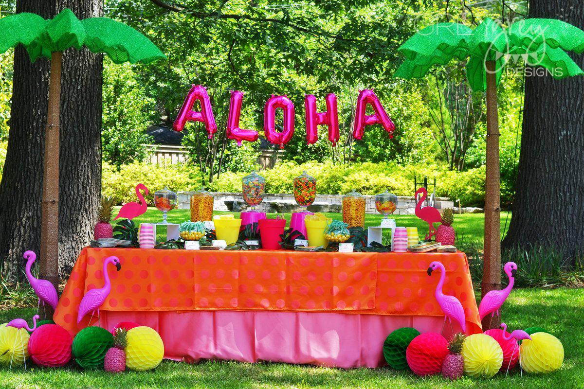 GreyGrey Designs: Aloha High School Luau Themed Graduation ...