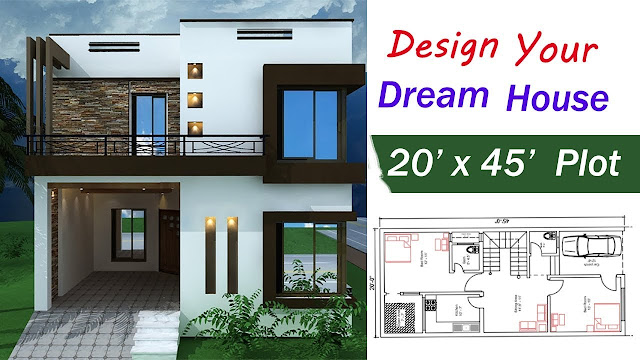 Your Dream House 20 x 45 ft - 2019 House Design