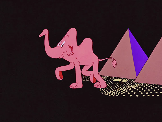 Movie Of Mice And Pink Pachyderms Parade