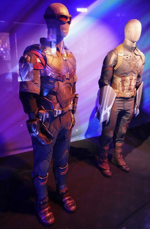 Falcon Nomad costumes Avengers Infinity War