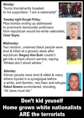 A Week Of American Hate Bombs Mailed Black People Executed Jews