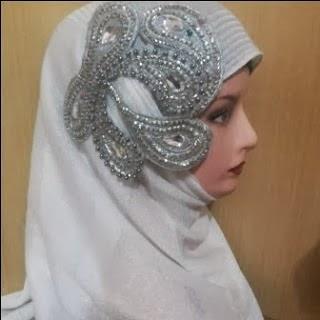 Aksesoris Jilbab Pesta Pengantin Muslimah