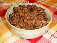 Apple Flaxseeds Halwa
