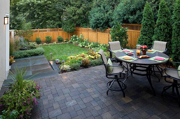 Mediterranean Backyard Garden Design