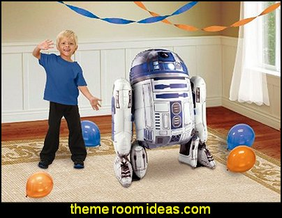 Star Wars R2D2 AirWalker Foil Balloon
