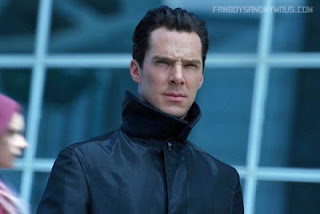 Star Trek Into Darkness Khan kills Kirk Spock yells Khan Benedict Cumberbatch