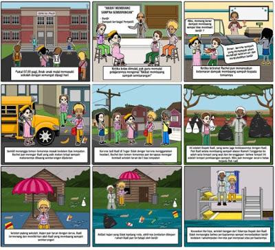 Storyboard Iklan Layanan Masyarakat Informasi Cerita