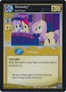 My Little Pony Fluttershy, Safe Haven Premiere CCG Card