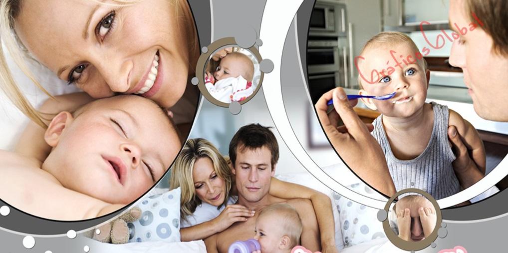 Plantillas psd para crear FotoAlbum familia