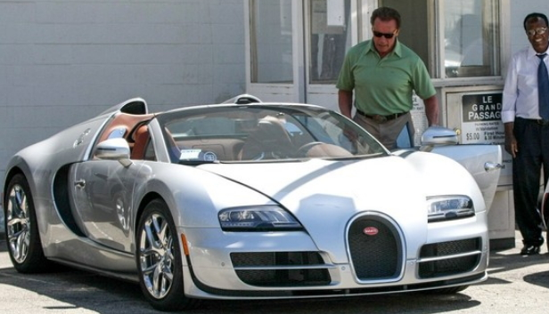 Arnold Schwarzenegger Sells Bugatti Veyron to nigerian
