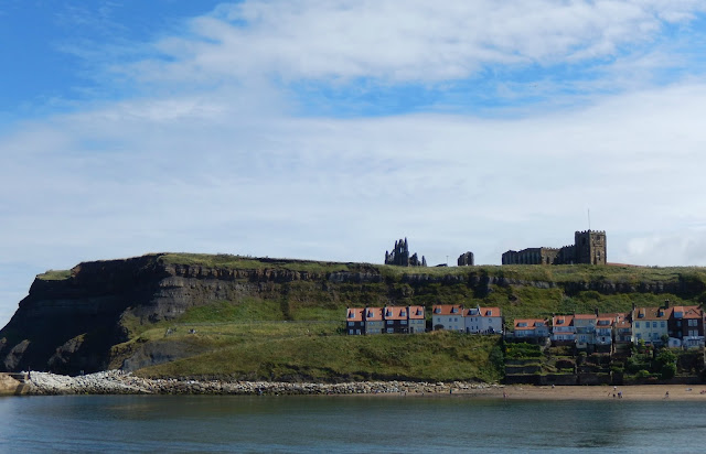 Whitby Abbey picture postcard