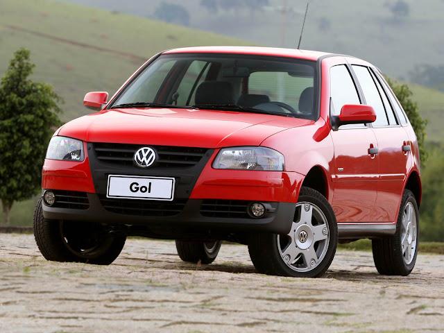 Volkswagen Gol - carro mais vendido do Brasil em 2005