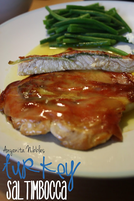 Turkey Saltimbocca is a perfect aphrodisiac dinner from www.anyonita-nibbles.com