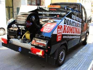 Desatascos con camión cisterna *Badalona*