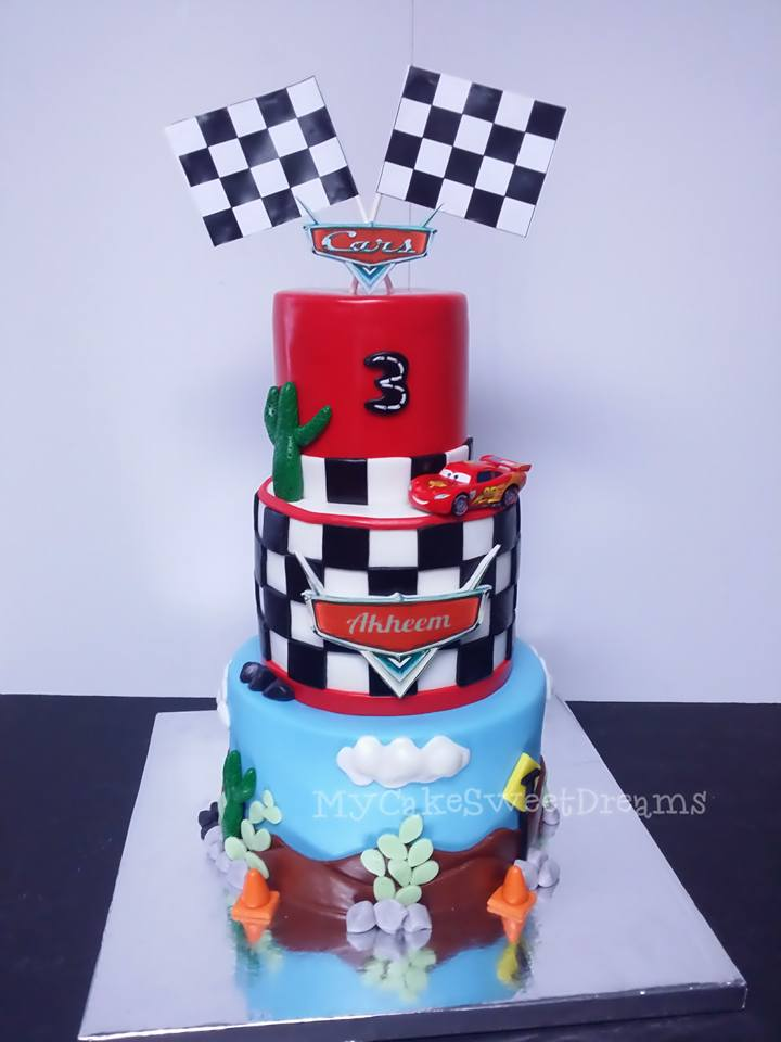 My Cake Sweet Dreams Disney Cars Birthday Cake